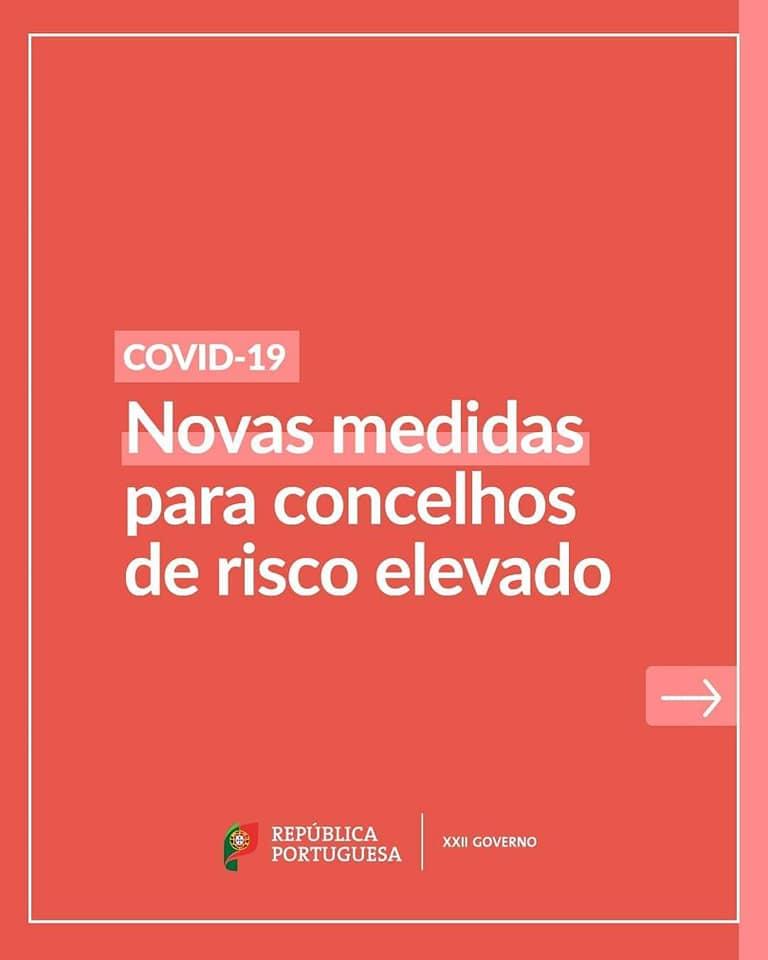 Concelho de Vila Nova de Foz Côa em risco elevado de contagio - COVID19